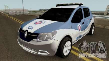 Renault Sandero 2017 PMBA CIPM для GTA San Andreas