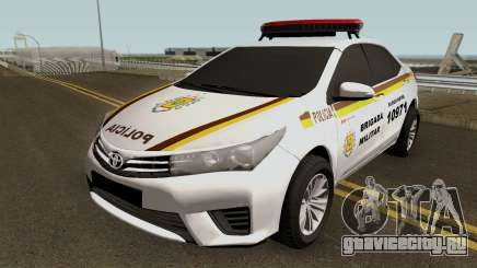 Toyota Corolla Brazilian Police (Patamo) для GTA San Andreas