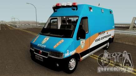 Fiat Ducato PMERJ BPVE для GTA San Andreas