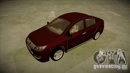 Chery A3 Sedan 2013 V2 для GTA San Andreas