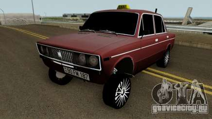 VAZ 2106 Drift Taxi Baku City для GTA San Andreas