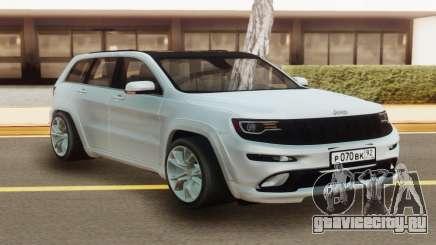Jeep Grand Cherokee White для GTA San Andreas