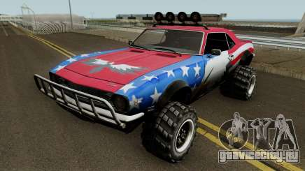 Chevrolet Camaro Z28 Off Road 1968 для GTA San Andreas