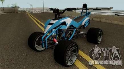 Nagasaki Streer Blazer GTA V для GTA San Andreas