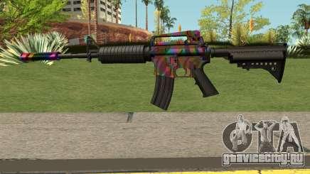 Rainbow M4 для GTA San Andreas