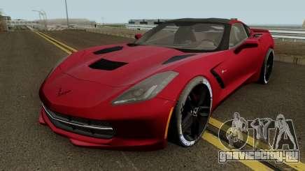 Chevrolet Corvette Z51 C7 2014 для GTA San Andreas