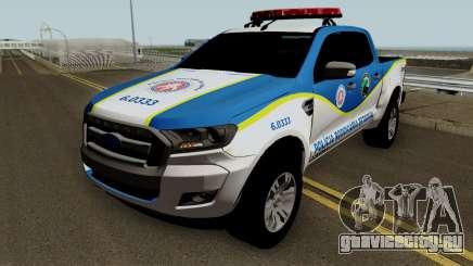Ford Ranger 2017 PRE PMBA для GTA San Andreas