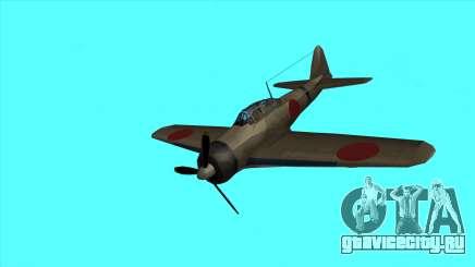 Рустлер - А6М Зеро для GTA San Andreas