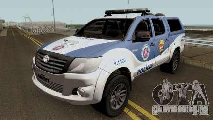 Toyota Hilux 2015 PETO CIPM для GTA San Andreas