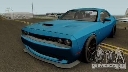 Dodge Challenger SRT Hellcat 2015 HQ для GTA San Andreas