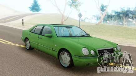 Mercedes-Benz E55 W210 Green для GTA San Andreas