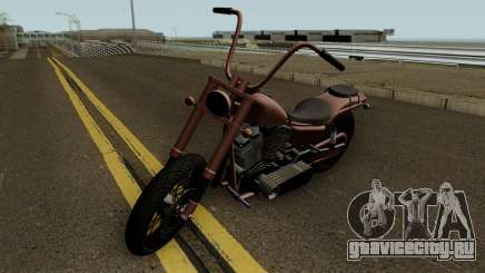 Western Motorcycle Daemon GTA V HQ для GTA San Andreas