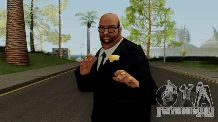 PS2 LCS JD Suit Skin для GTA San Andreas