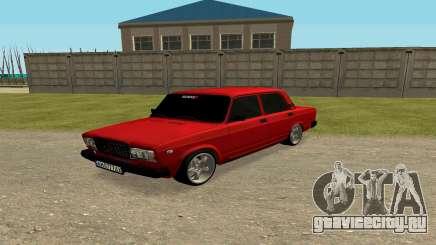 ВАЗ 2107 Пагороду для GTA San Andreas
