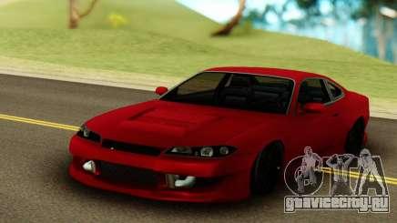 Nissan Silvia S15 Red Stock для GTA San Andreas