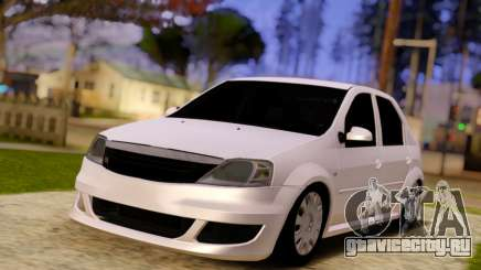 Renault Logan Widebody для GTA San Andreas