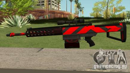 New Sniper Rifle (Red) для GTA San Andreas