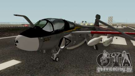 EA-6B Prowler Grey для GTA San Andreas