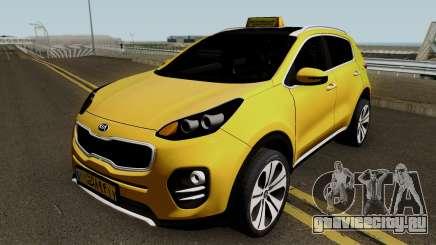 Kia Sportage 2017 Taxi Maku для GTA San Andreas