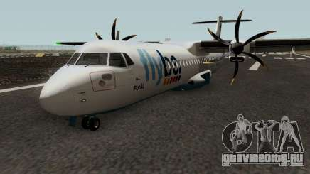 ATR 72-600 Flybe Livery для GTA San Andreas
