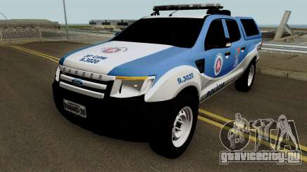 Ford Ranger 2014 - CIPM Serra Dourada для GTA San Andreas