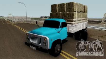 Gaz-52 Truck Azerbajian Straw Bale для GTA San Andreas