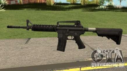 M4A1 WARFACE для GTA San Andreas