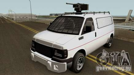 Vapid Speedo Custom And Armored GTA V IVF для GTA San Andreas