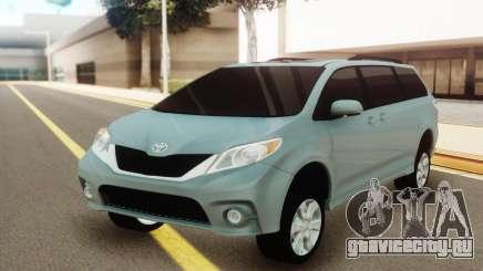 Toyota Sienna для GTA San Andreas