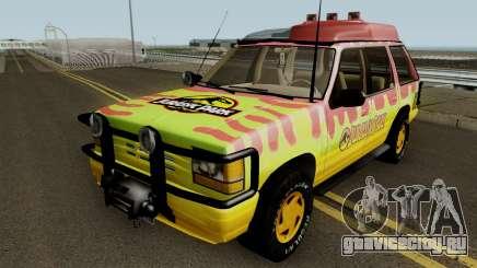 Ford Explorer - Jurassic Park v2 для GTA San Andreas