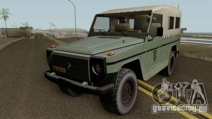 Steyr Puch Croatian Army для GTA San Andreas