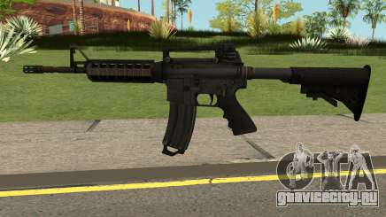 M4A1 Rumble 6 для GTA San Andreas