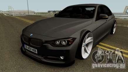 BMW M3 F30 HQ для GTA San Andreas