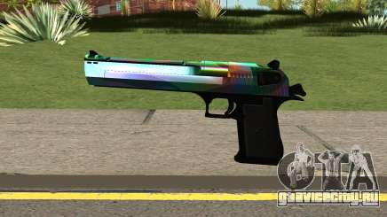 Rainbow Desert Eagle для GTA San Andreas