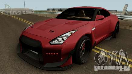Nissan GT R35 (Rocket Bunny) Edition для GTA San Andreas