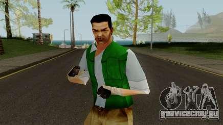 PS2 LCS Beta Toni Outfit 1 для GTA San Andreas