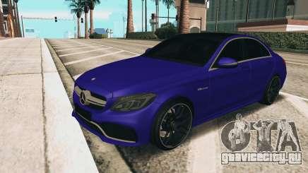Mercedes-Benz C63S AMG для GTA San Andreas