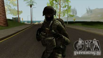 Expeditionary Soldier для GTA San Andreas