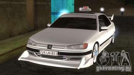 Peugeot 406 Taxi Marselle v2.5 для GTA San Andreas