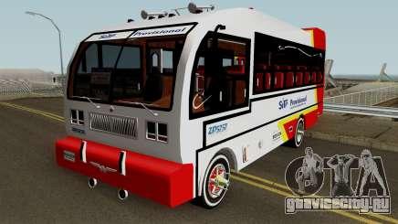 Buseton International 4500 для GTA San Andreas
