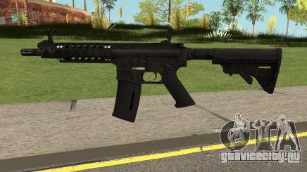 Takedown Red Sabre M4A1 для GTA San Andreas