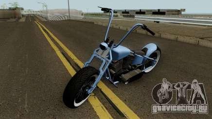 Western Motorcycle Zombie Bobber GTA V HQ для GTA San Andreas