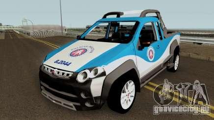 Fiat Strada Locker 2013 PMBA для GTA San Andreas