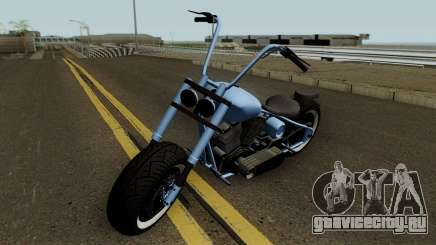 Western Motorcycle Zombie Chopper Con Pain GTA V для GTA San Andreas