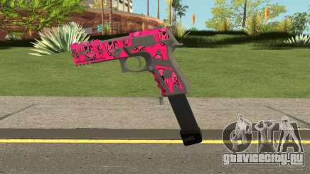 GTA Online Gunrunning Pistol MK.II Pink Skull для GTA San Andreas