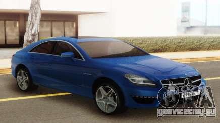 Mercedes-Benz CLS63 AMG Blue для GTA San Andreas