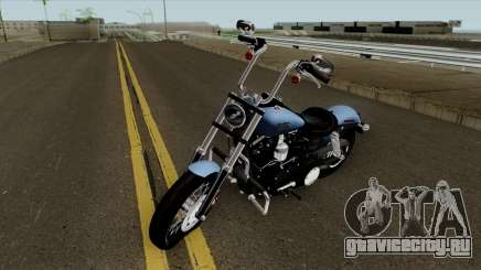 Harley-Davidson FXDB - Dyna Street Bob 2017 для GTA San Andreas