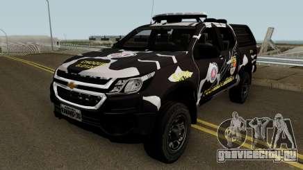 Chevrolet S-10 2018 CHOQUE PMBA для GTA San Andreas