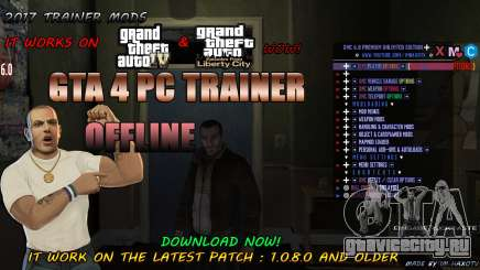 Script Trainer NEW By Im HaxoTV 1.0.8.0 для GTA 4
