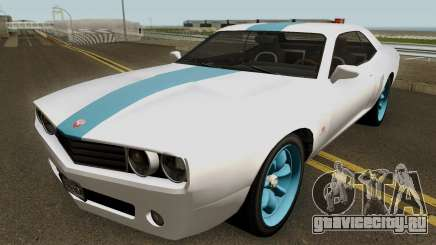 Dodge Challenger SRT Normal (Gauntlet) 2012 для GTA San Andreas